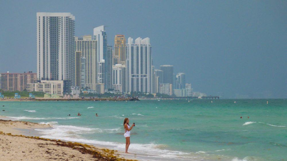 Strand van Miami