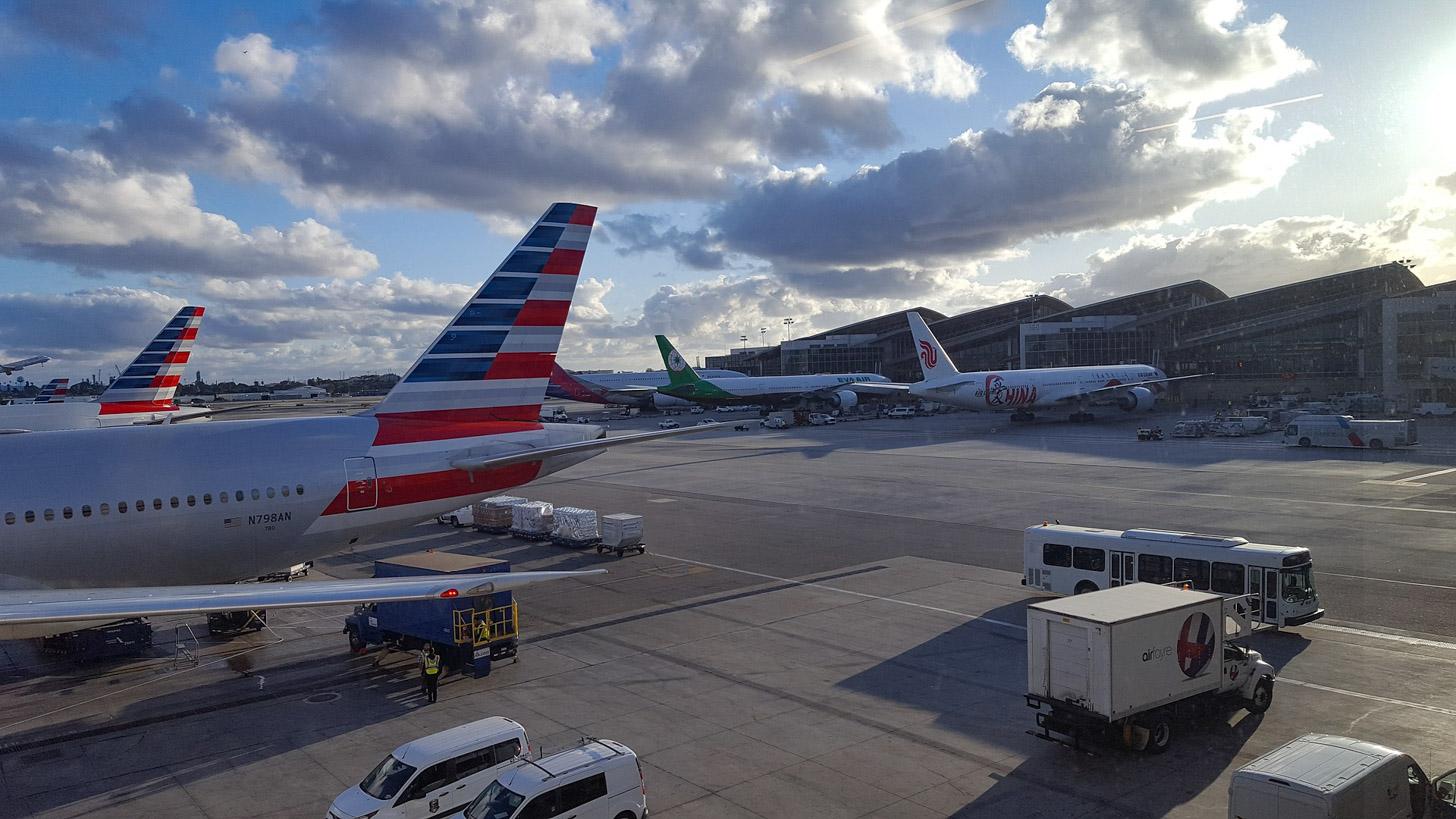 vliegen naar Miami