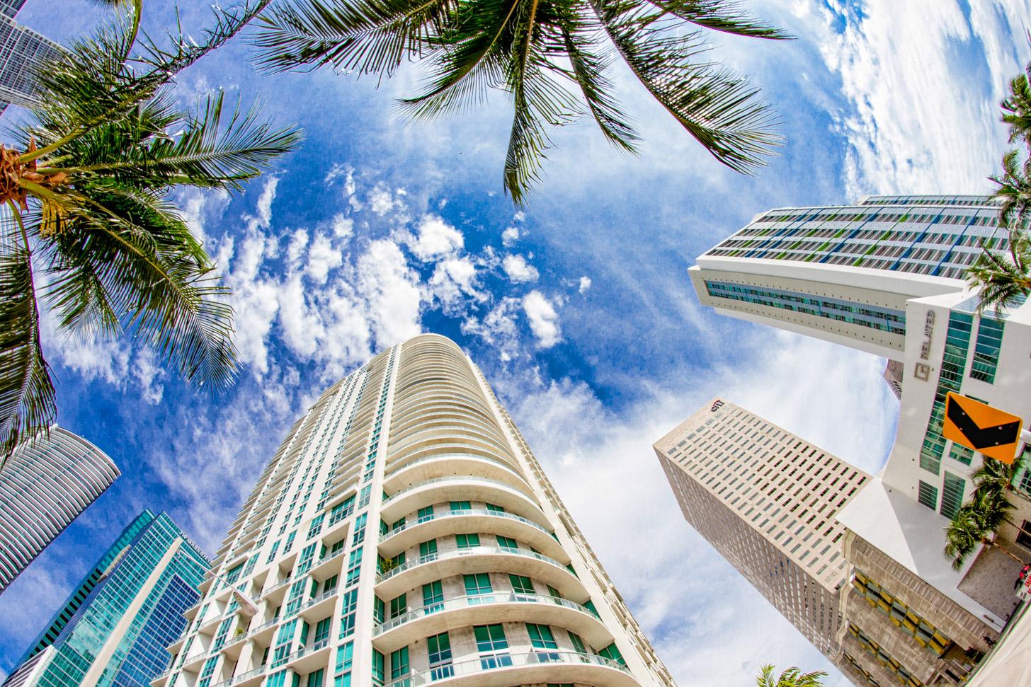 Het weer in Miami